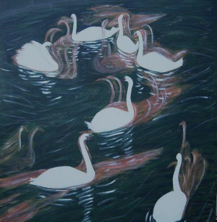 The 7 swans a-swimming represent the seven gifts of the Holy Spirit ...